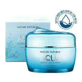 【NATURE REPUBLIC】【ネイチャーリパブリック】スーパー・アクアマックス・フレッシュ 水分クリーム (脂性用) 80ml Super Aqua Max Fresh Watery【楽天海外直送】