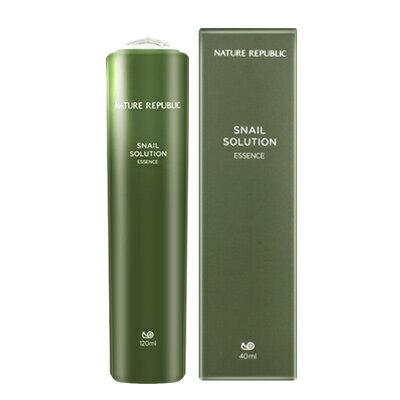 【NATURE REPUBLIC】【ネイチャーリパブリック】スネール・ソリューション・美容液 40ml Snail Solution Essence【楽天海外直送】