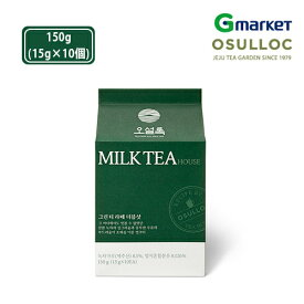 【O'Sulloc】【オソルロック】オソルロック ミルクティーハウス グリンティーラテ ダブルショット/O'sulloc Milk Tea House Green Tea Latte Double Shot/150g/オソルロック/オソルロッ/O'Sulloc/OSULLOC/抹茶ラテ/グリンティーラテ/ラテ【楽天海外通販】