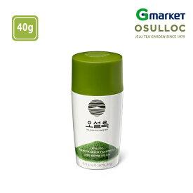 【O'Sulloc】【オソルロック】オソルロック プレミアム粉末緑茶/O'sulloc Premium Green Tea Powder/40g/オソルロック/オソルロッ/O'Sulloc/OSULLOC/お茶/緑茶【楽天海外通販】