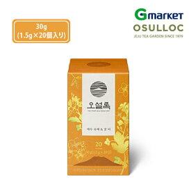 【O'Sulloc】【オソルロック】オソルロック チェジュナノハナ&蜜茶/O'sulloc Jeju Rape & Honey/20個入り/オソルロック/オソルロッ/O'Sulloc/OSULLOC/お茶/緑茶【楽天海外通販】