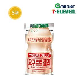 【SEVEN ELEVEN】【セブンイレブン】ヨーグルトグミ/Yogurt Jelly 50g × 5袋/5袋/韓国お菓子/グミ/ヨーグルトの味/セブンイレブン【楽天海外直送】