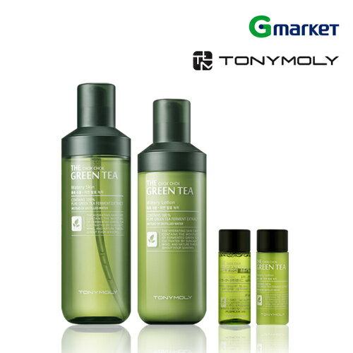 【TONYMOLY】【トニーモリー】 さらにしっとりグリーンティー 水分2種セット 化粧水/トーナー/乳液【楽天海外直送】
