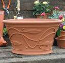 トレーリング リーフ ポット 直径52cmサイズWhichford Trailing Leaf Pot WF-624C 英国憧れのウィッチフォード社製植木鉢/テ...