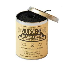 NUTSCENE/ナッツシーン麻ひも 缶入りジュートツイン130M(3ply) ブラック