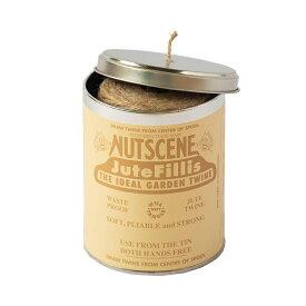 NUTSCENE/ナッツシーン 麻ひも缶入りジュートツイン130M・3plyナチュラル