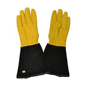 英国ジェイコ(JAYCO社)ゴールドリーフロンググローブ タフタッチ(手袋) レディース【2020年10月再入荷】