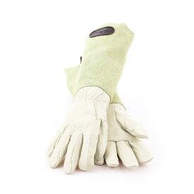 ギフトにおすすめ! Bradley's/ブラッドリーズカラースエードレザーグローブ グリーン- Suede Leather Gardening Gloves -【送料無料】
