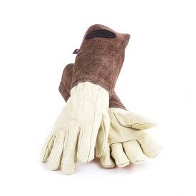 ギフトにおすすめ! Bradley's/ブラッドリーズ伝統的なレザーのガーデニンググローブ Sサイズ- Heritage Leather Gardening Gloves -