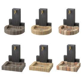 立水栓ユニット ウッドクリートタイプ水栓柱/パンセットRS-12T-PA/PB【ニッコーエクステリア nikko】