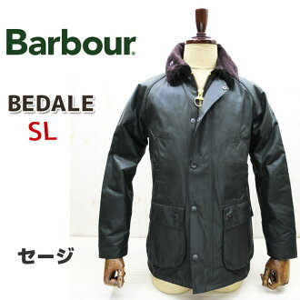 [Japanese Official Sales Agent] BARBOUR  BEDALE SL Series  Barbour Bedale Series  Colour: Sage Green Waxed Jacket Slim [Men] Bedale Series