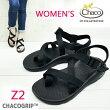 【WOMEN'S】国内正規品CHACO(チャコ)Women'sZ2CHACO(チャコ)独自に開発したCHACOGRIPソール)chacoサンダル【BLACK】Z2レディースchacoz2