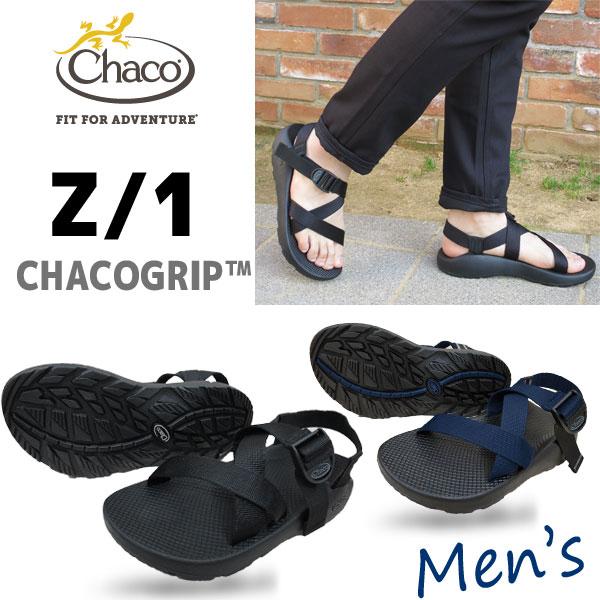 【メンズ】定番 CHACO チャコ サンダル Men's Z/1 独自に開発したCHACOGRIPソール chaco サンダル【 BLACK 】【 INDIGO 】 Z1 メンズ スポーツサンダル スポサン chaco z1 chaco サンダル z1 chaco z1 メンズ