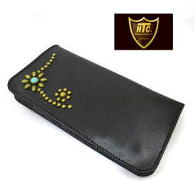 HTC USATYPE1 # 25TQ USLEATHER LONG WALLET ロングウォレット【BLACK】htc ウォレット htc 長財布 45557
