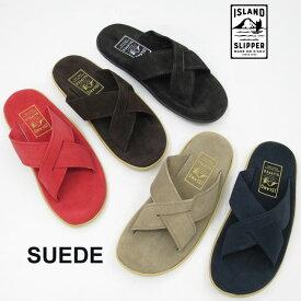 【国内正規品】【2019SS】 アイランドスリッパ クロス スエードサンダル PT223 SLIDE ( スライド )ユニセックス アイランドスリッパー スウェード スェード island slipper レディース メンズ