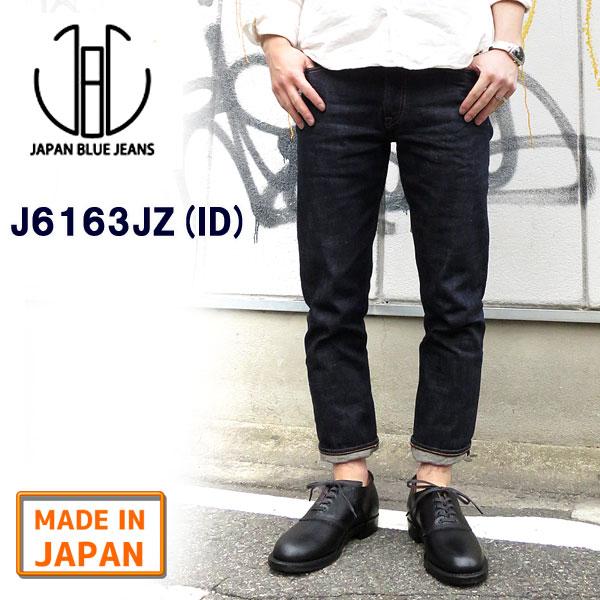 【正規販売代理店】 ジャパンブルージーンズ 【丈つめ無料】 J6104JZ PREP 【 ID ( インディゴ )】 綿100% [12.5oz アフリカ綿 ヴィンテージ赤耳(セルヴィッチ)] JAPANBLUE ジャパンブルー メンズ japan blue jeans プレップカット J6104Z-J