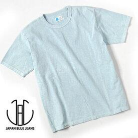在庫限り【★】【正規販売代理店】【メール便ネコポスで発送】 ジャパンブルージーンズ 天然染めTシャツ JST001 コートジボワール綿100% 半袖Tシャツ 無地 JAPAN BLUE JEANS[ RED、SAX ] JAPANBLUE ジャパンブルーTシャツ