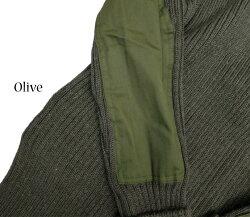 【woollypully/ウーリープーリー】クルーネックコマンドセーターイギリス製☆NATO軍採用の100%バージンウールセーター