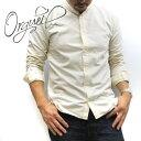 2020FW【 正規販売店 】 ORGUEIL / オルゲイユ メンズ バンドカラーシャツ 【 コットンシャツ 】 [OR-5043B] 【メン…