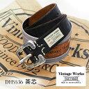 【GMMSTOREが厳選した最適のケア用品プレゼント】【茶芯モデル】 Vintage Works ヴィンテージワークスDH5536 茶芯 ハンドメイドレザー…
