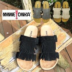 【3色】2017SS【国内正規品】ミネトンカサンダル,minnetonka74002ミネトンカサンダルフリンジレディース痛くない靴