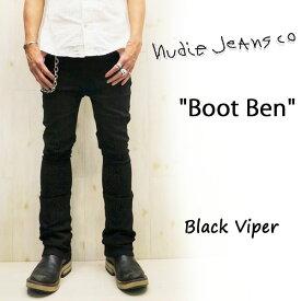 【★】 NUDIE JEANS ( ヌーディージーンズ )BOOT BEN [ Black Viper ] (485) / ブートベン [ ブラックバイパー ] 42161-1256 SKU#111939 BOOTBEN nudie jeans ヌーディージーンズ ブラック ドライ ブーツカット デニム