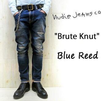 2016 SS NUDIE JEANS (Nudie jeans) BRUTE KNUT [BLUE REED] (565) / brutknuto [blue read] 43161-1175 SKU #112077 BOOTBEN nudie jeans Nudie jeans mens