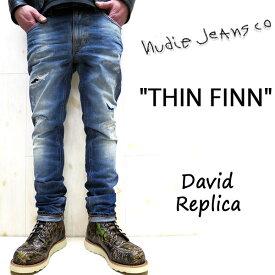 NUDIE JEANS ( ヌーディージーンズ )THIN FINN [ David Replica ] (726) / シンフィン [ デイビッドレプリカ ] 45161-1252 SKU#112527 nudie jeans THINFINN ヌーディージーンズ メンズ