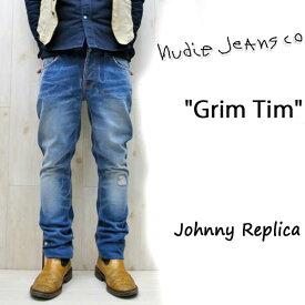 【★】在庫限りセール SALE  NUDIE JEANS ( ヌーディージーンズ )GRIM TIM グリムティム color.416 JOHNNY REPLICA (ジョニーレプリカ) 41161-1173nudie jeans grimtim
