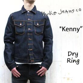 CONNYの後継モデル☆ NUDIE JEANS : ヌーディージーンズ KENNY 【 col. B26 DRY RING 】ケニー 【 ドライリング 】デニムジャケット Gジャン42161-5012 SKU160416