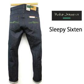 """超限定【GREEN】 NUDIE JEANS ( ヌーディージーンズ )【育てがいのある""""DRY""""】 SLEEPY SIXTEN [ DRY GREEN SELVAGE ] (N980) / スリーピーシックステン 48161-1429 SKU#112977 nudie jeans SLEEPYSIXTEN ヌーディージーンズ ユニセックス イタリア製"""