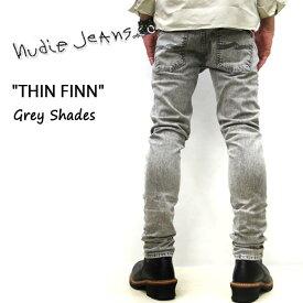 2019SS新作 NUDIE JEANS ( ヌーディージーンズ )THIN FINN [ GREY SHADES ](N024) / シンフィン [ グレーシェード ] 49161-1279 SKU#113008 nudie jeans THINFINN ヌーディージーンズ メンズ イタリア製