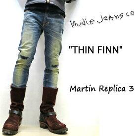 NUDIE JEANS ( ヌーディージーンズ )THIN FINN ThinFinn[ MARTIN REPLICA 3 ](N876) / シンフィン [ マーティンレプリカ ] 46161-1209 SKU#112806 nudie jeans THINFINN ヌーディージーンズ メンズ 【日本代理店が限定オーダー】