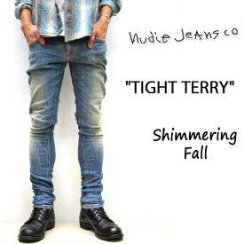 【★】在庫限りセール SALE NUDIE JEANS ( ヌーディージーンズ )スキニーフィット TIGHT TERRY [ SHIMMERING FALL ] (808) / タイトテリー 46161-1134 SKU#112550 nudie jeans TIGHTTERRY ヌーディージーンズ ユニセックス