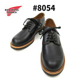 """【ケア用品1点付】 #8050 の改良モデル RED WING / レッドウィング 【 #8054 FOREMAN OXFORD / BLACK""""CHROME""""(ブラッククローム)】 フォアマン・オックスフォード REDWING レッドウイング 短靴"""
