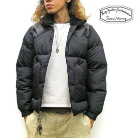 2019FW最新入荷分☆ロッキーマウンテンフェザーベッド クリスティジャケット 【 神戸 正規店 】ボア付☆ Rocky Mountain Featherbed CHRISTY JACKET【 BLACK / ブラック 】ロッキーマウンテン メンズ ダウンジャケット MADE IN JAPAN 200-192-06