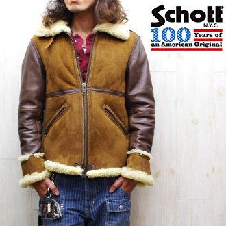 ☆ schott b-6 フライトダウンボア jacket schott shot schott leather Jean シープムートン