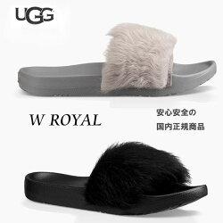 【2018SS】【ugg国内正規商品】UGG(アグ)uggROYAL【BLACK】【SEAL】uggサンダル正規品ウィメンズ