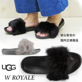 【 ugg 国内正規商品 】 UGG ( アグ ) ugg ROYAL 【 BLACK 】【 SEAL 】 ugg サンダル 正規品 ウィメンズ