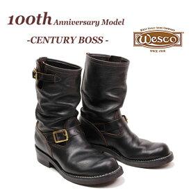 【即納】限定モデル WESCO 【100th Anniversary Model】【 CENTURY BOSS 】 ウエスコ センチュリーボス  Horsehide 馬革 ホースハイド エンジニアブーツ 【100周年アニバーサリーモデル】