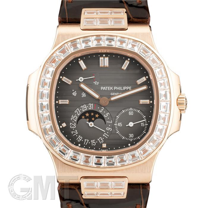 パテック・フィリップ ノーチラス 5724R-001 ローズゴールド バゲットダイヤ PATEK PHILIPPE 【新品】 【腕時計】【メンズ】 【送料無料】 【あす楽_年中無休】