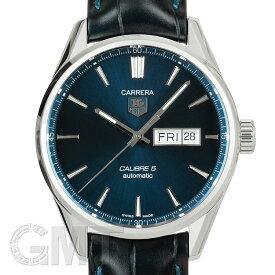 TAG Heuer カレラ Cal.5 デイデイト ブルー 革ベルト WAR201E.FC6292 TAG HEUER 新品メンズ 腕時計 送料無料