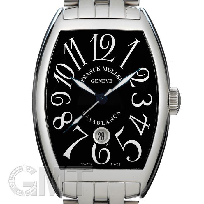 フランク・ミュラー カサブランカ 8880CDT ステンレス ブレスレット ブラック FRANCK MULLER 【新品】【メンズ】 【腕時計】 【送料無料】 【あす楽_年中無休】