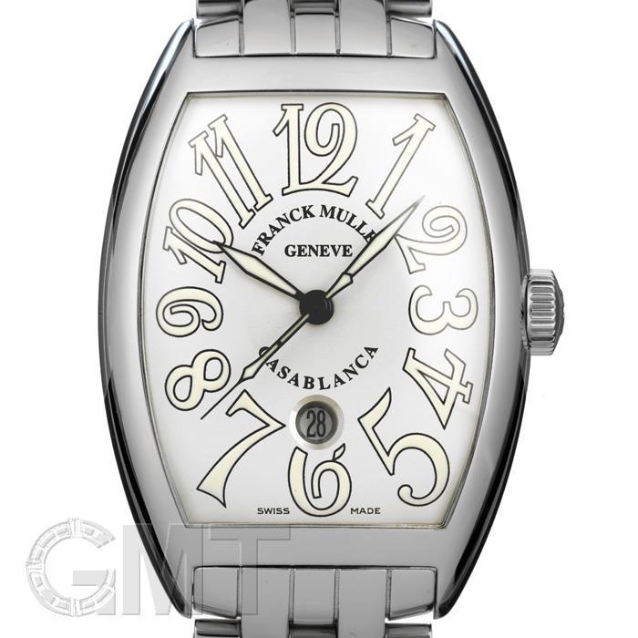 フランク・ミュラー カサブランカ 8880 CASA DT ステンレス ブレスレット ホワイト FRANCK MULLER 【新品】【メンズ】 【腕時計】 【送料無料】 【あす楽_年中無休】