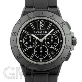 ブルガリ ディアゴノ マグネシウム クロノグラフ DG42BSMCVDCH ブラックラッカーダイヤル BVLGARI 新品メンズ 腕時計 送料無料