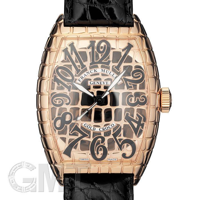 フランク・ミュラー トノーカーべックス ゴールド クロコ 8880SC GOLD CRO FRANCK MULLER 【新品】【メンズ】 【腕時計】 【送料無料】 【あす楽_年中無休】