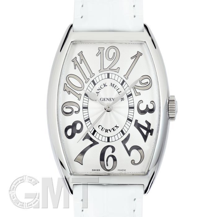 フランク・ミュラー トノーカーベックス 5850SC シルバーレリーフ ホワイトレザー FRANCK MULLER 【新品】【メンズ】 【腕時計】 【送料無料】 【あす楽_年中無休】