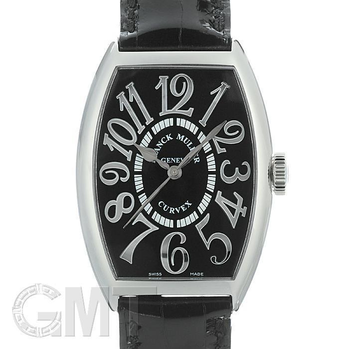 フランク・ミュラー トノーカーベックス 5850SC ブラックレリーフ ブラックレザー FRANCK MULLER 【新品】【メンズ】 【腕時計】 【送料無料】 【あす楽_年中無休】