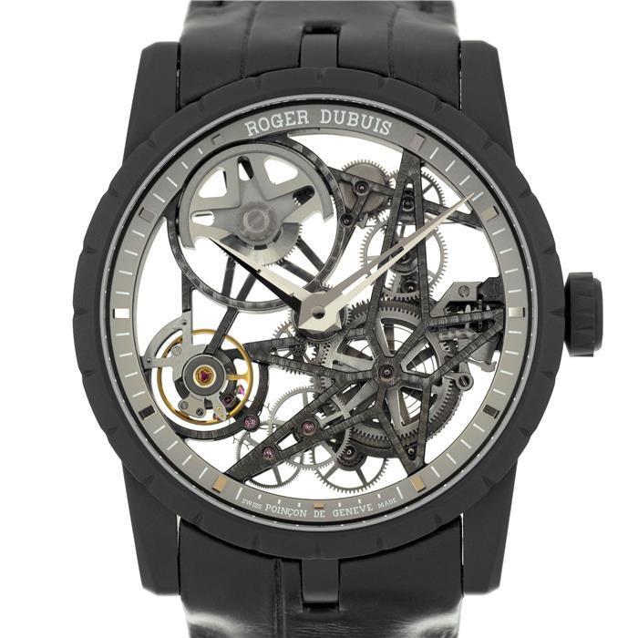 ロジェ・デュブイ エクスカリバー42 マイクロローター オートマティック スケルトン RDDBEX0473 ROGER DUBUIS 【新品】【メンズ】 【腕時計】 【送料無料】 【あす楽_年中無休】