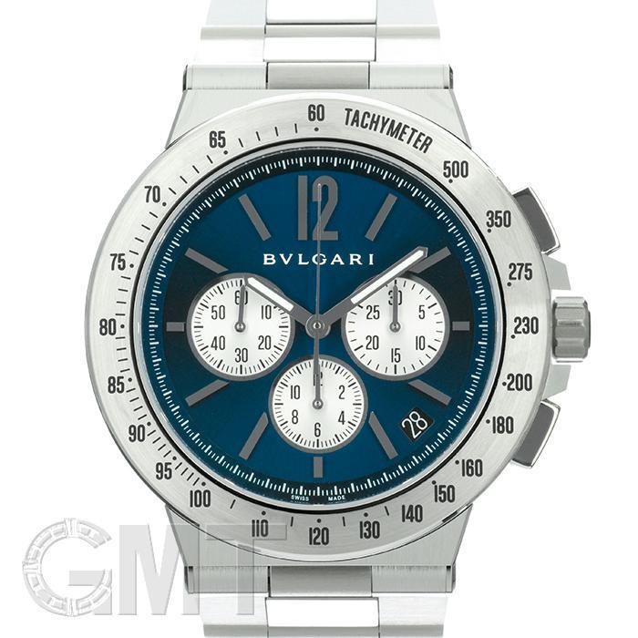 ブルガリ ディアゴノ ヴェロチッシモ DG41C3SSDCHTA ブルー BVLGARI 【新品】【メンズ】 【腕時計】 【送料無料】 【あす楽_年中無休】